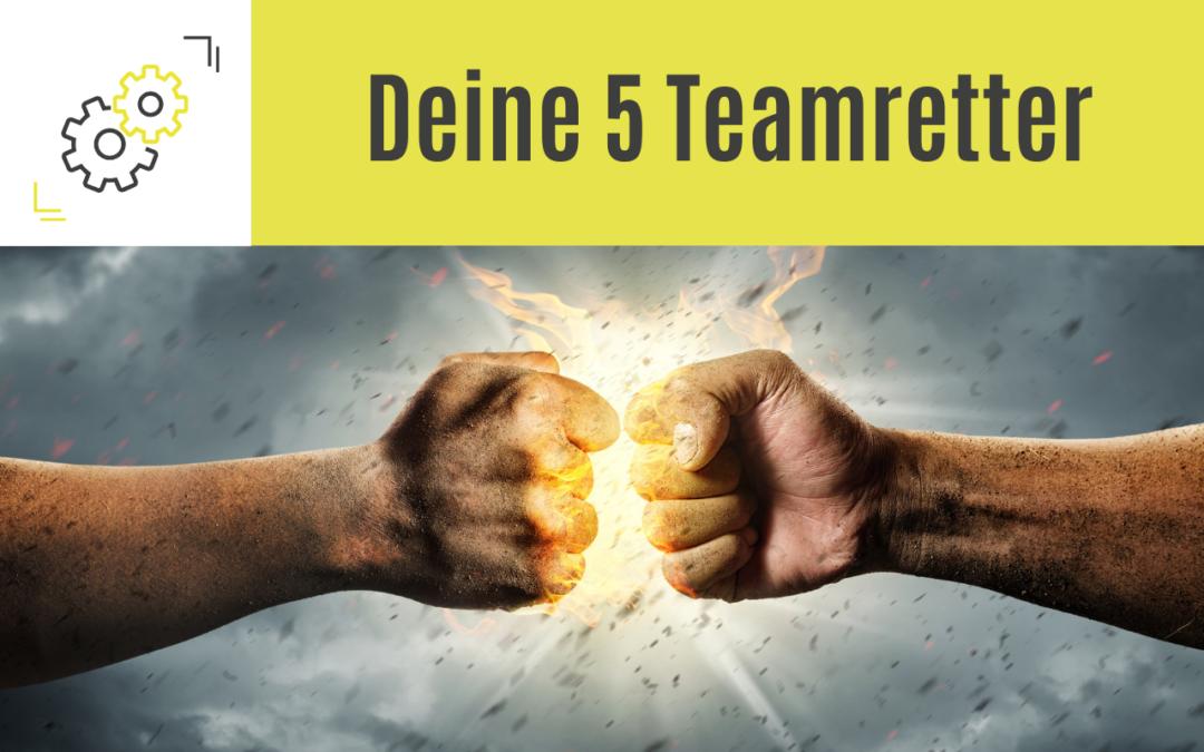 Wenn´s im Team so richtig kracht